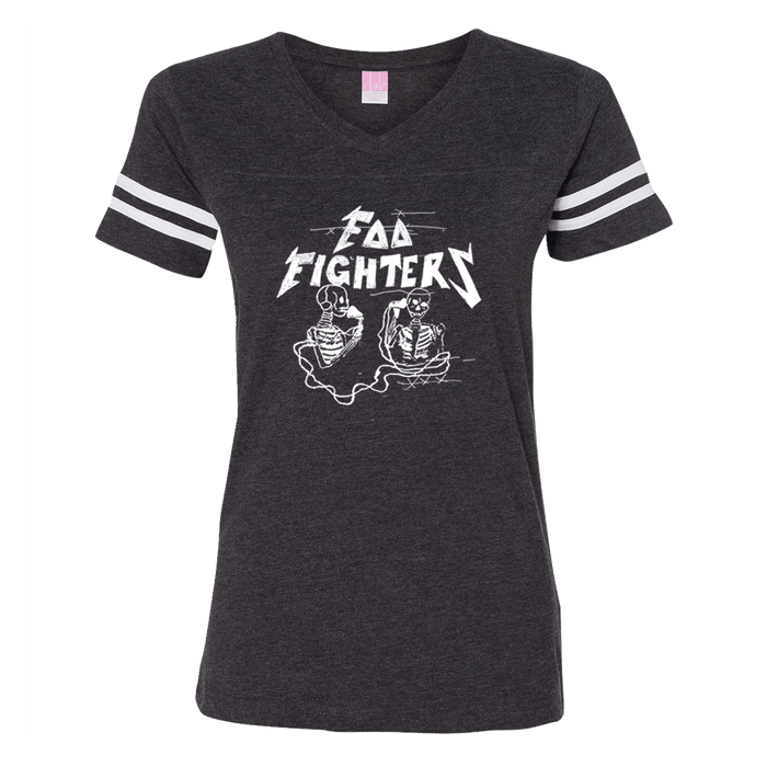Hersher Sketch Fooball Tee - Foo Fighters