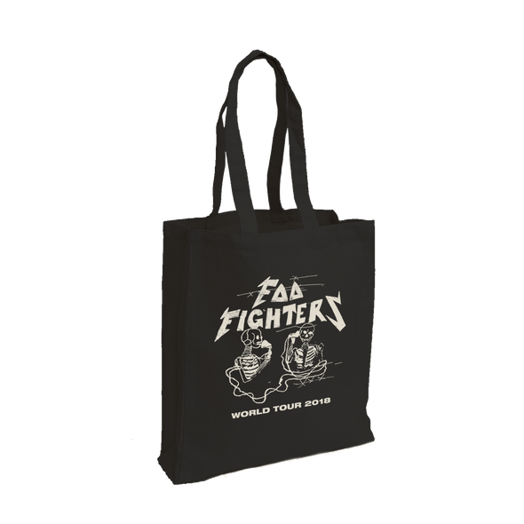 Hersher Sketch Tote - Foo Fighters