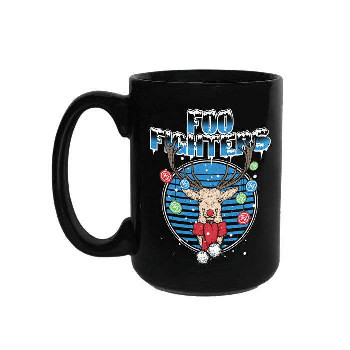 Jolly Deer Mug - Foo Fighters