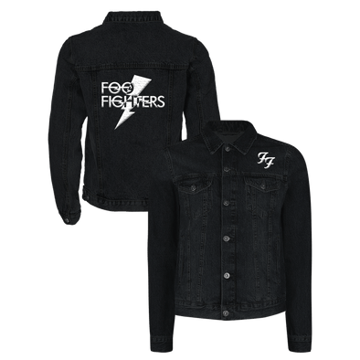 Lightning Denim Jacket - Foo Fighters