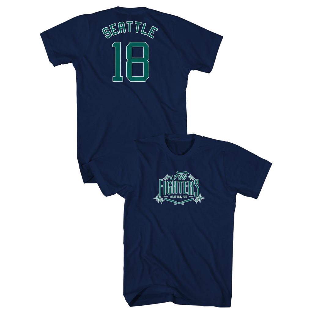 Organic Seattle Tee Foo Fighters Official Store