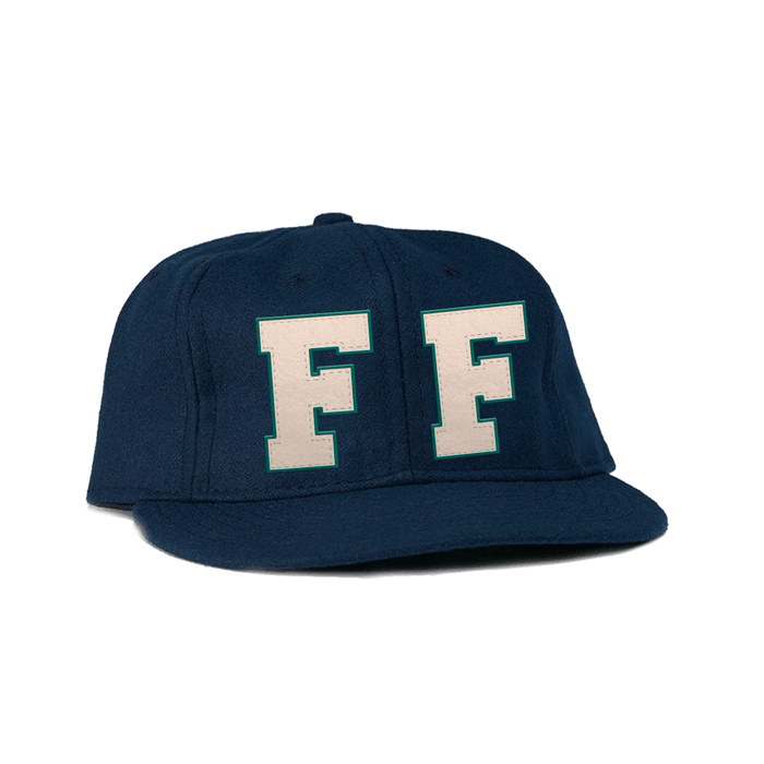 Navy Wool Hat - Foo Fighters