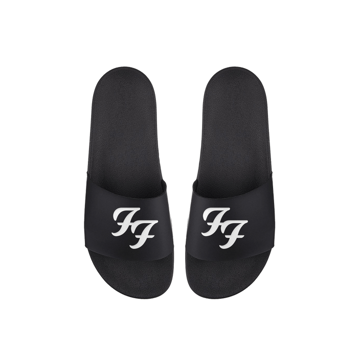 FF Logo Slide Sandals - Foo Fighters