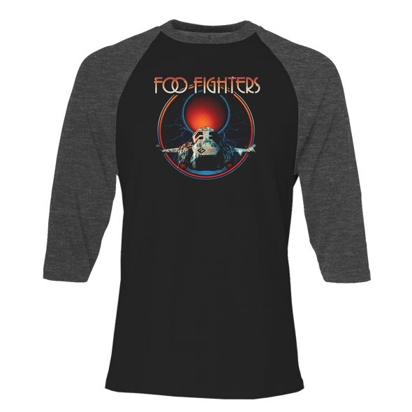 Space Fighters 3/4 Sleeve Raglan - Foo Fighters