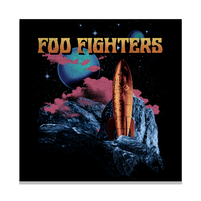 Spaceship Wall Flag - Foo Fighters