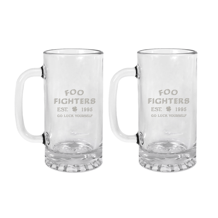 Go Luck Yourself Beer Mug Bundle - Foo Fighters