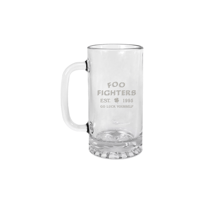 Go Luck Yourself Beer Mug - Foo Fighters