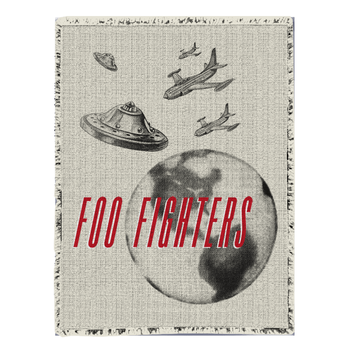 UFO Blanket - Foo Fighters