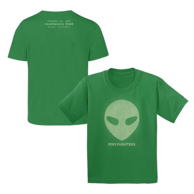 Alien Youth Green Tee