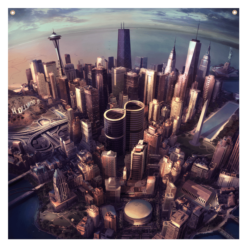 Sonic Highways Wall Flag - Foo Fighters