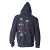 Molecules Hoodie (Navy Heather) - Foo Fighters