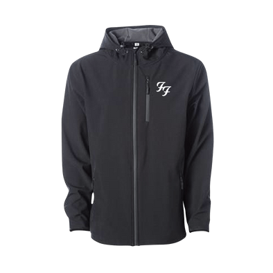 Soft Shell Embroidered Jacket - Foo Fighters