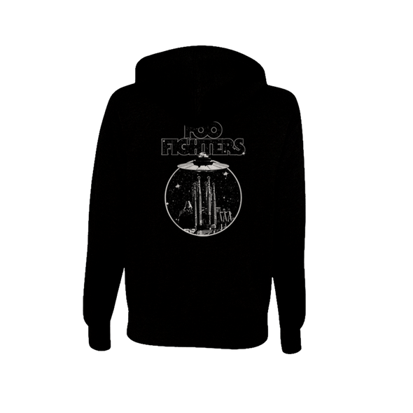 Abduction Zip-Up Hoodie - Foo Fighters