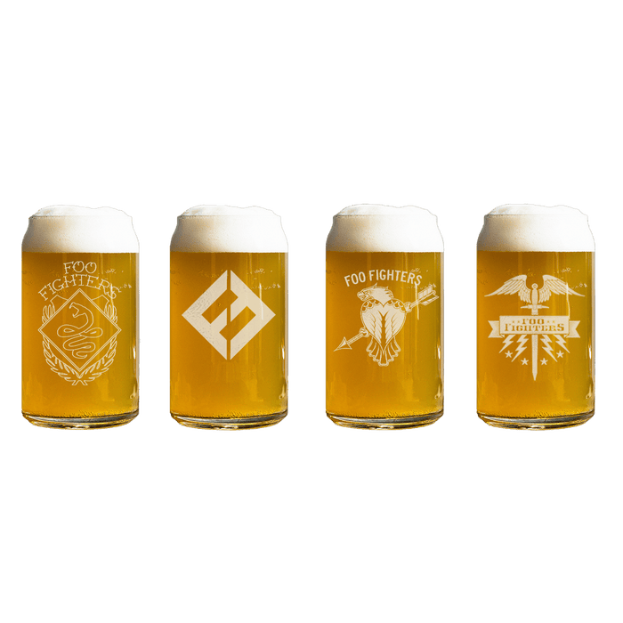 Beer Can Glass Bundle - Foo Fighters