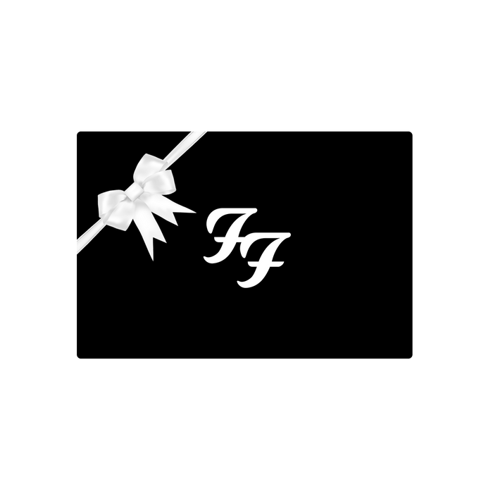 Gift Card - Foo Fighters