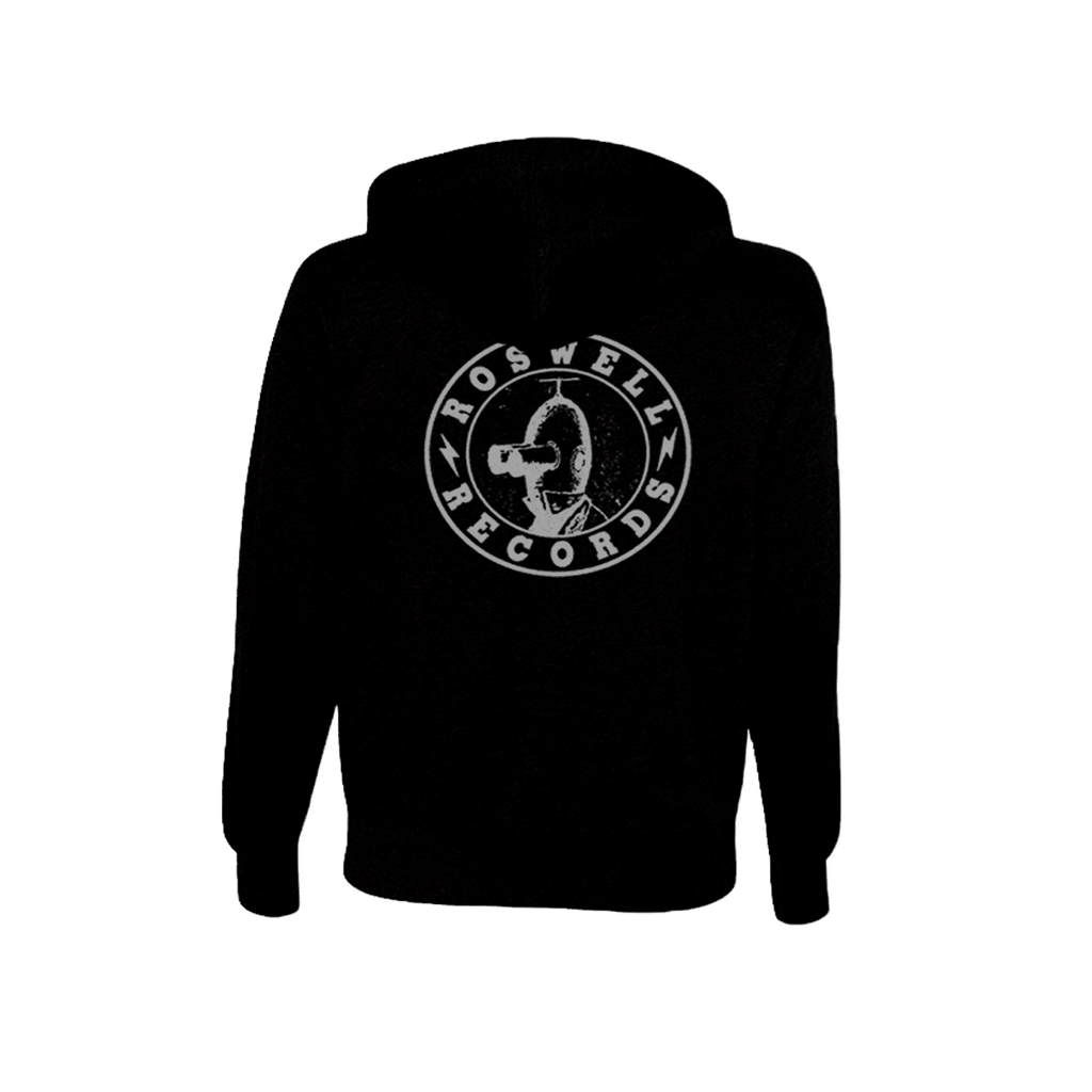Roswell Records Hoodie - Foo Fighters