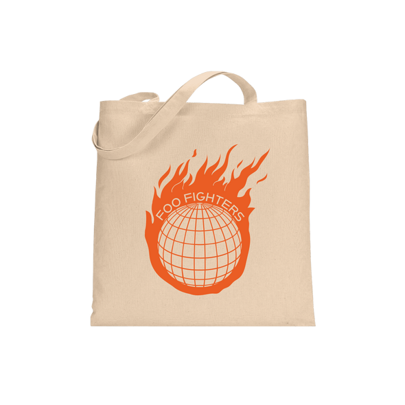 Comet Tote Bag - Foo Fighters
