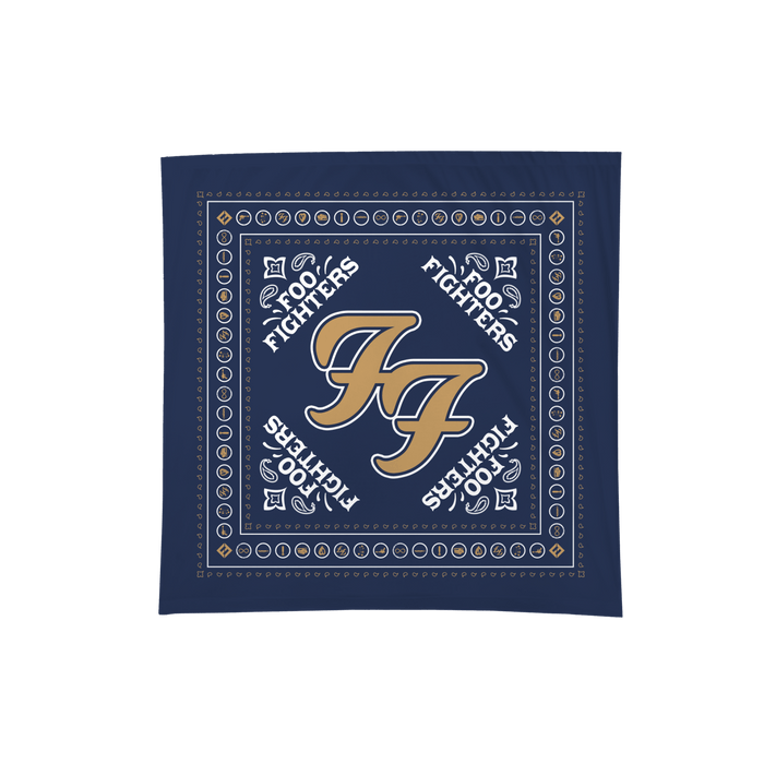 Logo Blue Bandana - Foo Fighters