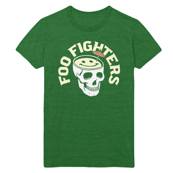 Skull Drink Tee - Foo Fighters