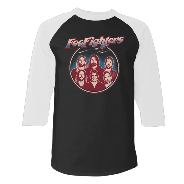 Space Crest Raglan - Foo Fighters