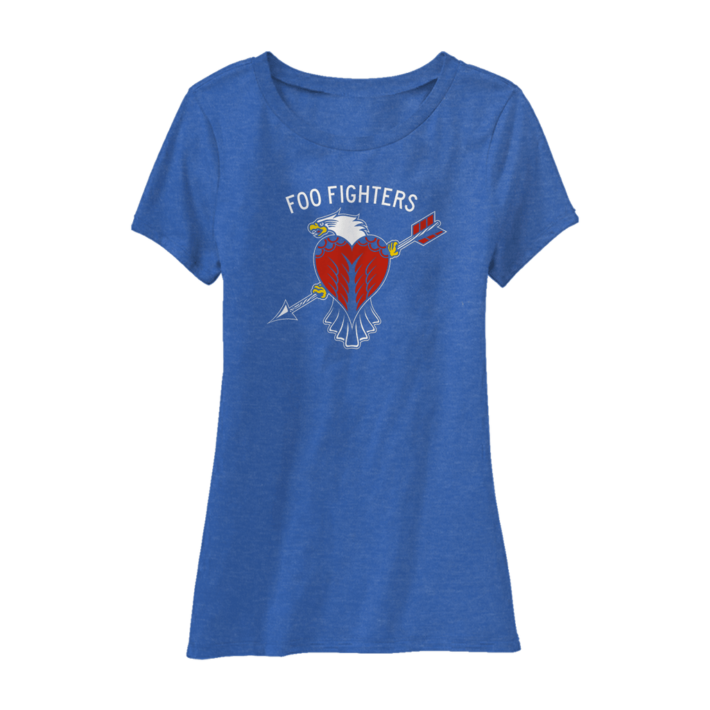 Worldwide Eagle Women's Tee - Foo Fighters