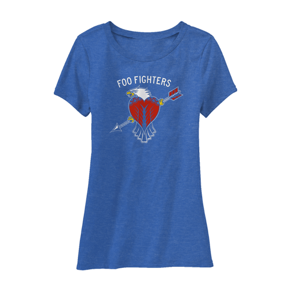 WORLDWIDE EAGLE WOMENS TEE - Foo Fighters