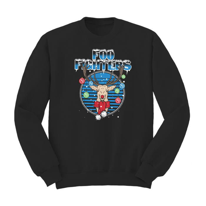 Jolly Deer Crewneck - Foo Fighters