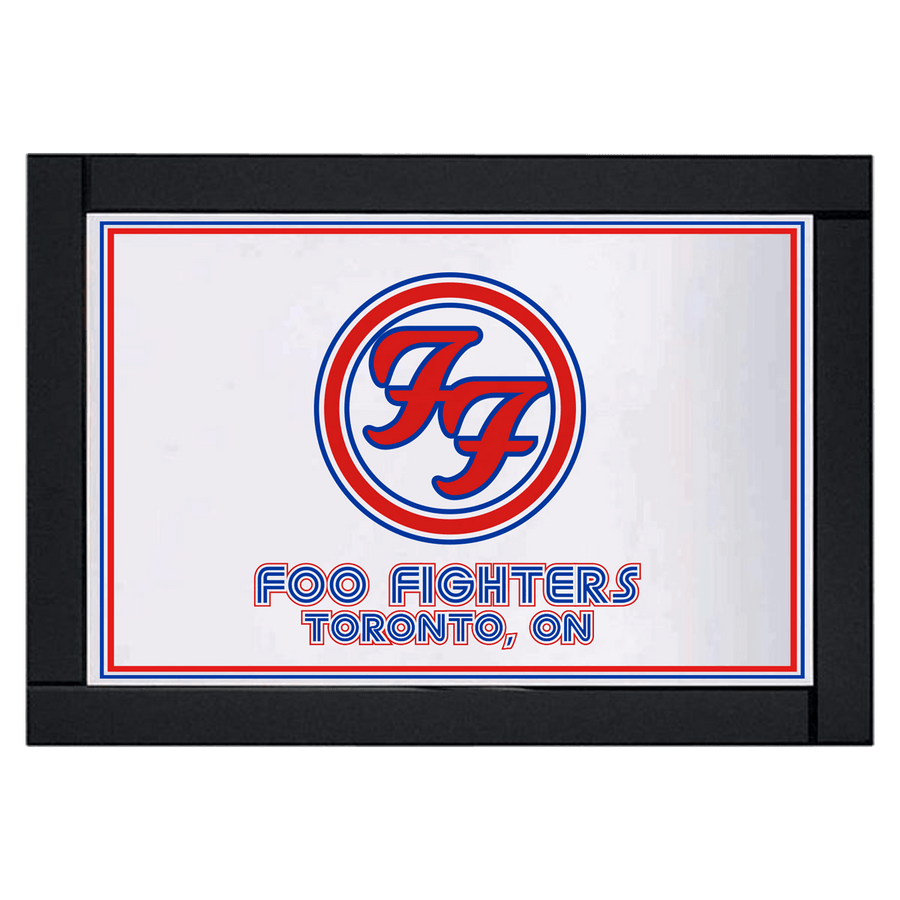 Toronto Bar Mirror - Foo Fighters