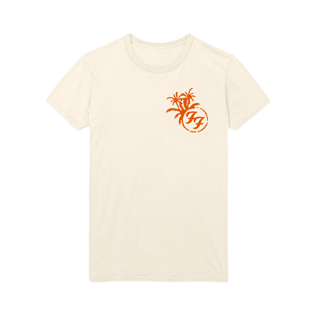 Foo Board Tee (Natural) - Foo Fighters