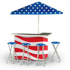 patriotic-bar-umbrella-stools