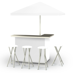 solid-white-bar-umbrella-stools