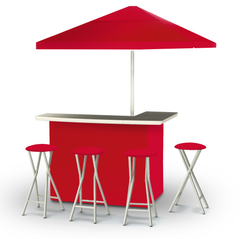 solid-red-bar-umbrella-stools