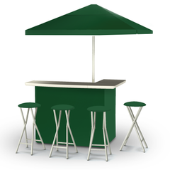 solid-green-bar-umbrella-stools