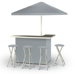 solid-grey-bar-umbrella-stools