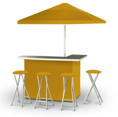 solid-gold-bar-umbrella-stools