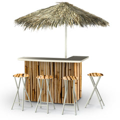 hawaiian-bamboo-bar-palapa-stools