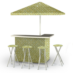 thatch-green-bar-umbrella-stools
