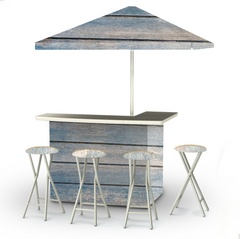 blue-wood-horizontal-bar-umbrella-stools