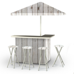 white-barn-wood-bar-umbrella-stools
