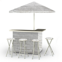 white-cinder-block-bar-umbrella-stools