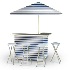 garage-metal-bar-umbrella-stools