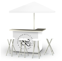 wedding-personalized-bar-umbrella-stools