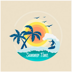 SURF - BEACH - SUMMERTIME