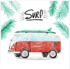 SURFS UP - VINTAGE