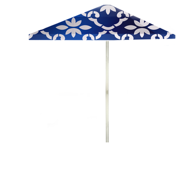 Garden Party - White/Celtic Blue - Large