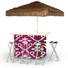 Garden Party - White/Magenta - Large