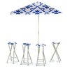 Garden Party - Celtic Blue/White - Large