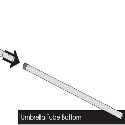 Umbrella – Bottom Pole Only