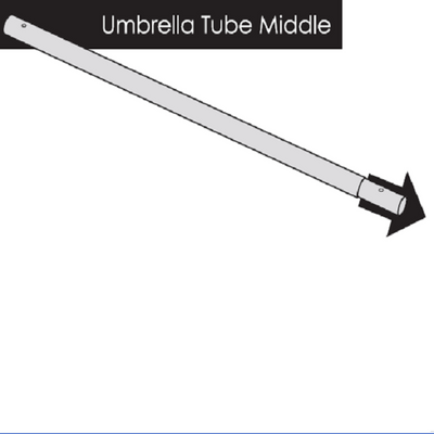Umbrella – Middle Pole Only