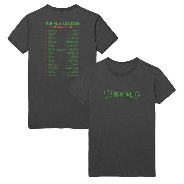 Live in London Short Sleeve Tee - R.E.M.